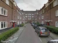 Ambulance naar Theseusstraat in Amsterdam