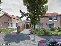 Ambulance naar Vensestraat in Veghel