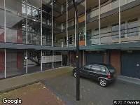 Brandweer naar Louis Zimmermannplein in Schiedam