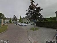 112 melding Ambulance naar Zeemanstraat in Ridderkerk