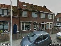 Ambulance naar De Waal Malefijtstraat in Katwijk