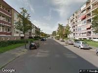 Brandweer naar Plutolaan in Groningen