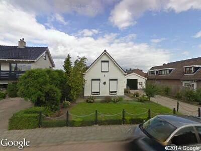 Ambulance naar Hallinxweg in Numansdorp