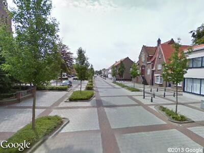 Politie naar Woestijnestraat in Clinge