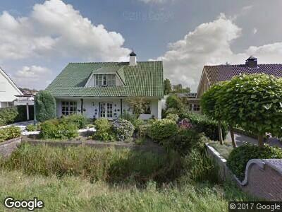 Brandweer naar Postbaan in Prinsenbeek