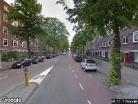 Ambulance naar Olympiaweg in Amsterdam