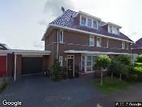 Brandweer naar Frederik Hendriklaan in Heerenveen