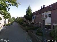 Brandweer naar Carrouselweg in Apeldoorn