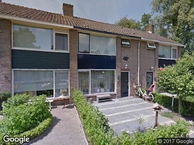 Ambulance naar Bernard van Hamstraat in Vleuten