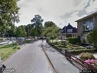 Brandweer naar Noordersingel in Leeuwarden