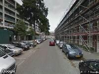 112 melding Ambulance naar Kaapstraat in Rotterdam