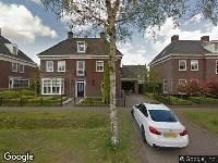 Ambulance naar Brand in Helmond