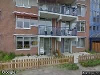 Ambulance naar Bergmanstrook in Zoetermeer