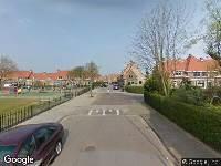 Ambulance naar Theophile de Bockstraat in Dordrecht