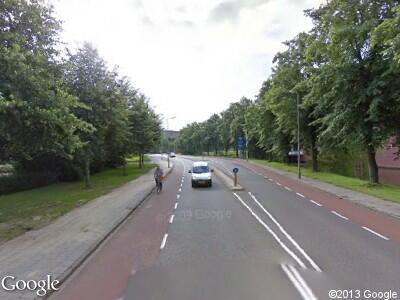 Politie naar Rijnlaan in Zwolle