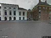 Brandweer naar Hofplein in Leeuwarden
