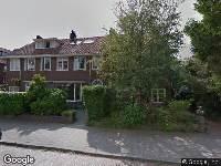 Brandweer en politie naar Witsenstraat in Arnhem