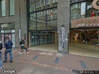 Ambulance naar Kalverstraat in Amsterdam