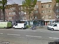 Ambulance naar Van Woustraat in Amsterdam