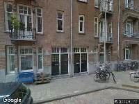 Ambulance naar Ingogostraat in Amsterdam