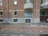 Ambulance naar Van Diemenstraat in Amsterdam