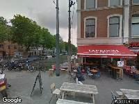 Ambulance naar Nieuwe Vijzelstraat in Amsterdam
