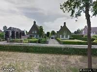 Brandweer naar Bosscheweg in Tilburg