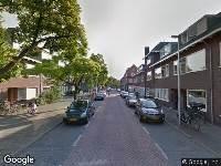 Politie naar Van Koetsveldstraat in Utrecht