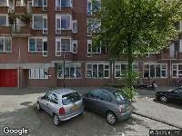 Ambulance naar Von Zesenstraat in Amsterdam