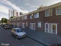 Ambulance naar Ganzenveldstraat in Amsterdam