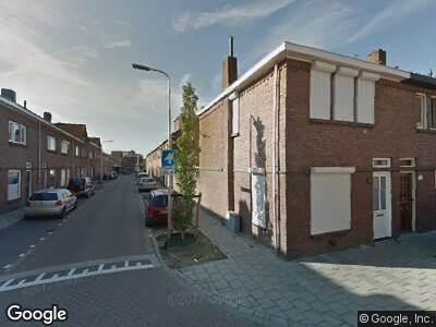 Brandweer naar Nachtegaalstraat in Tilburg