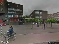 Besteld ambulance vervoer naar IJ-tunnel in Amsterdam