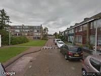 112 melding Ambulance naar Johannes Vermeerstraat in Spijkenisse