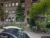 Ambulance naar Bolkstraat in Amsterdam