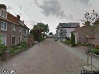 Ambulance naar Bernhardstraat in Waalwijk