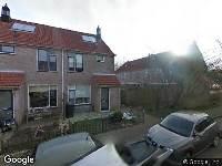 Brandweer naar Sleutelbloem in Opmeer