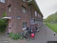 Ambulance naar Azartplein in Amsterdam