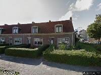 Brandweer naar Koningin Wilhelminastraat in Harlingen