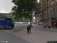 Ambulance naar Vredenburg in Utrecht