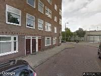 Ambulance naar Westzaanstraat in Amsterdam