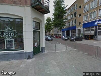 Ambulance naar Wibautstraat in Amsterdam