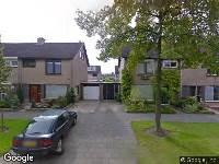 Brandweer naar Lindenlaan in Klaaswaal
