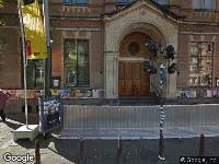 Ambulance naar Weteringschans in Amsterdam