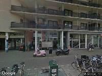 Ambulance naar Eerste Oosterparkstraat in Amsterdam