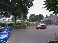 Ambulance naar Jac. van Vollenhovenstraat in Tilburg