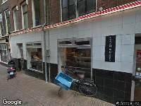 Ambulance naar Korte Reguliersdwarsstraat in Amsterdam