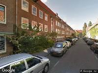 Politie naar Herculesstraat in Amsterdam