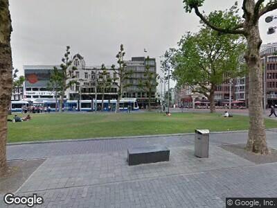 Ambulance naar Rembrandtplein in Amsterdam