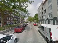 112 melding Ambulance naar Dirck Hoffstraat in Rotterdam