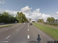 Brandweer naar A.C.Verhoefweg in Nieuwegein vanwege verkeersongeval